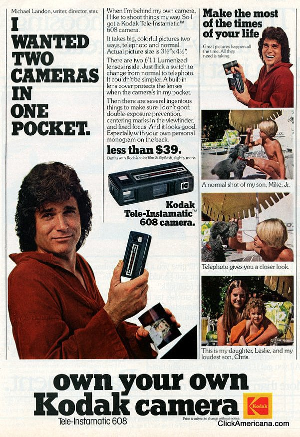 Another Michael Landon ad, because why not?