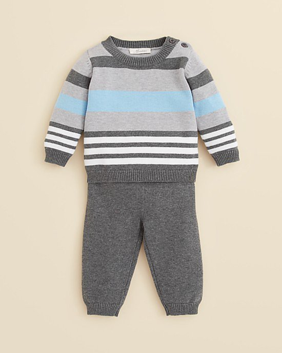 Miniclasix Striped Pant Set
