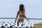 Rihanna's Bikini Photo Shoot Takes a Topless Turn