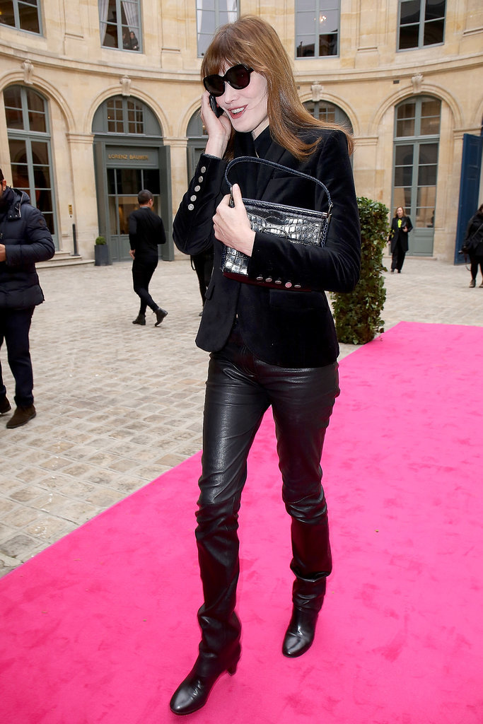Carla Bruni at Schiaparelli