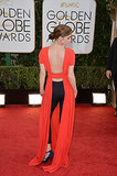 Emma Watson in Dior at the 2014 Golden Globes