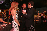 Ben Affleck met up with Bradley Cooper and Suki Waterhouse.
