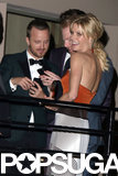 Julie Bowen partied at Sunset Tower with Aaron Paul and Jesse Tyler Ferguson.