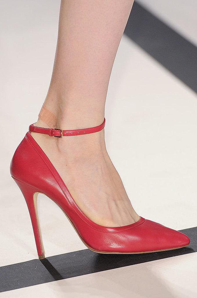 Ankle-Strap Pumps: Elie Saab Spring 2014
