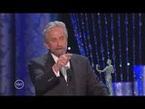 Michael Douglas Sprinkles His Speech With Dirty Jokes