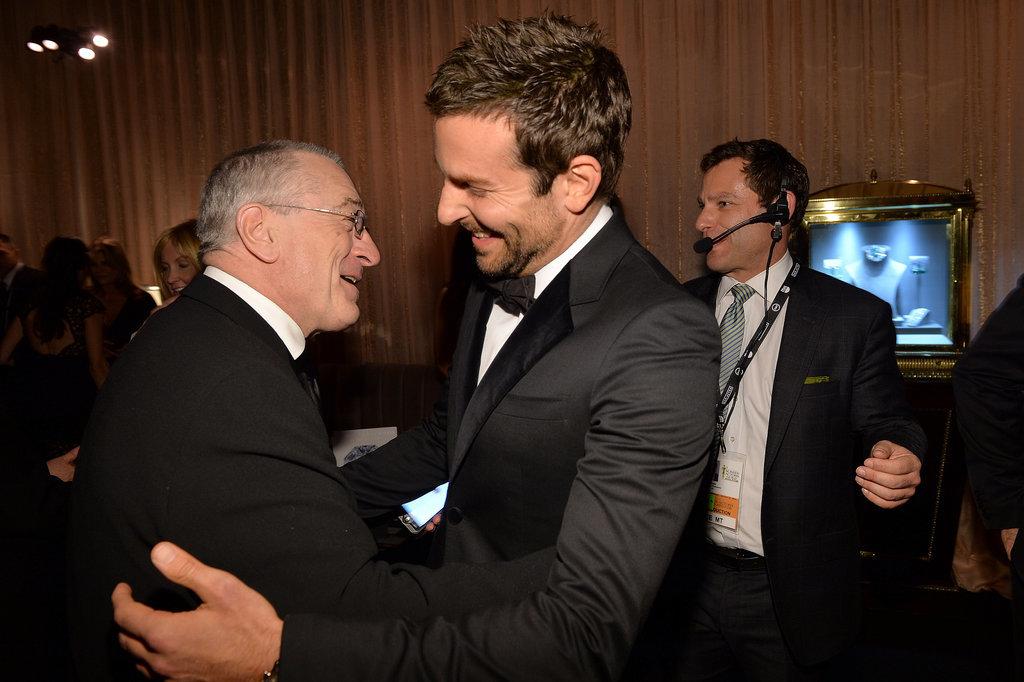 Bradley Got His Hug on With Robert De Niro at the SAGs