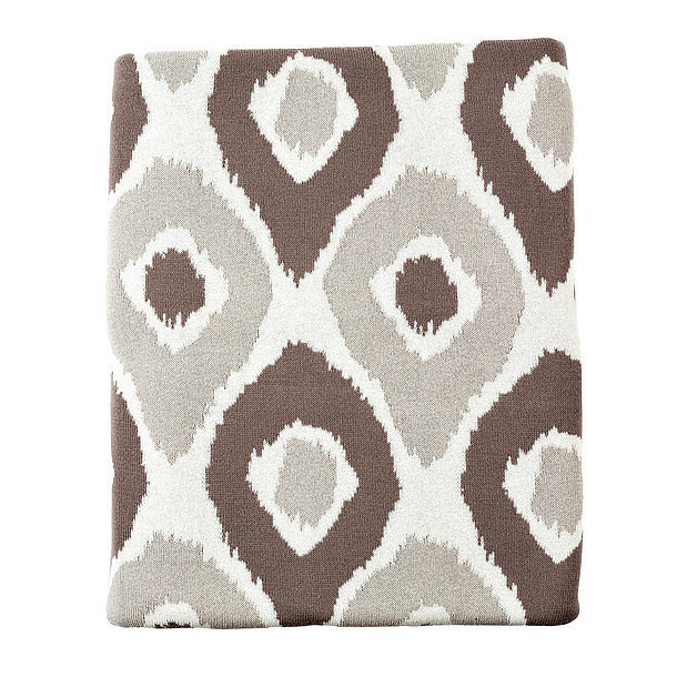 Cozy up for date night with a new throw blanket ($50). Although patterned, its neutral colors favor any space and decor.
