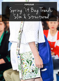 Spring Bag Trend No. 3: Slim and Structured