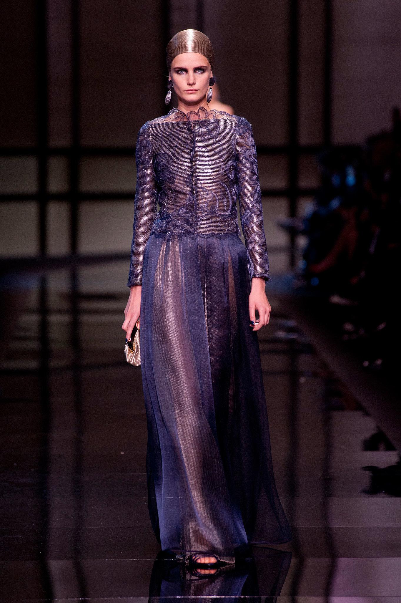 Giorgio Armani Privé Haute Couture Spring 2014 | POPSUGAR Fashion Giorgio Armani