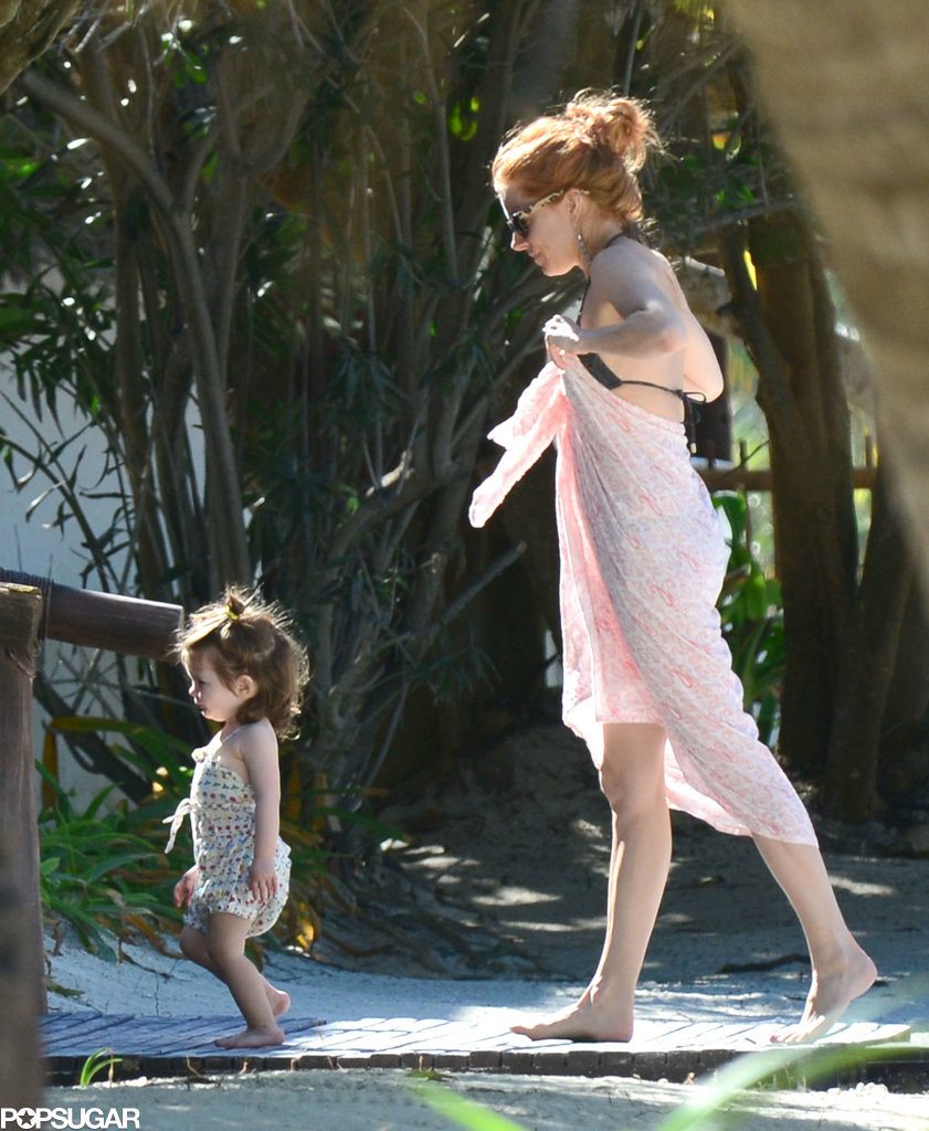 Sienna and Tom Bring Baby Marlowe to Mexico!