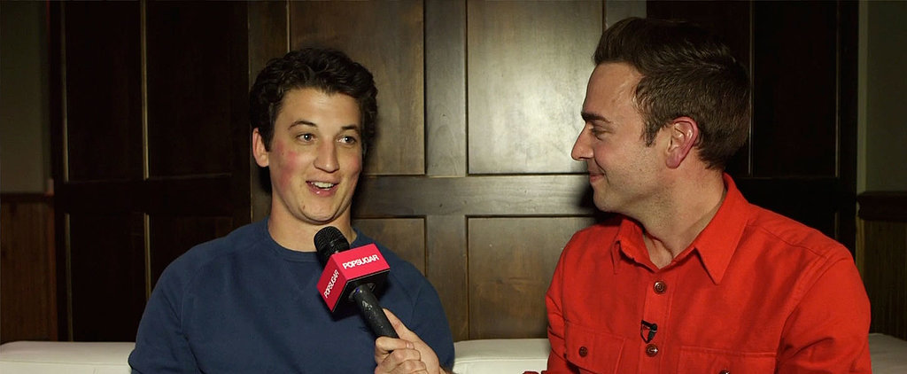 Why Miles Teller Almost Wasn't an Actor