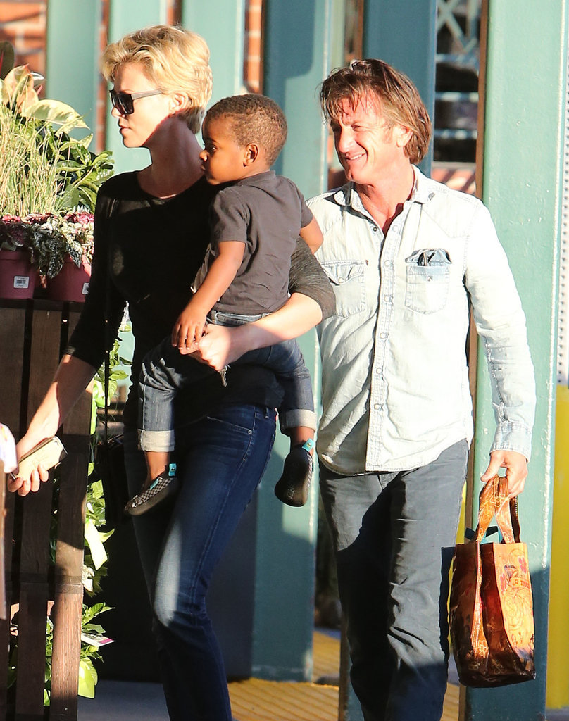 Charlize Is Really Bringing Out the Softer Side of Sean Penn