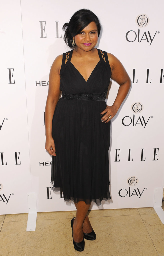 Mindy Kaling at the Elle Women in Television Celebration