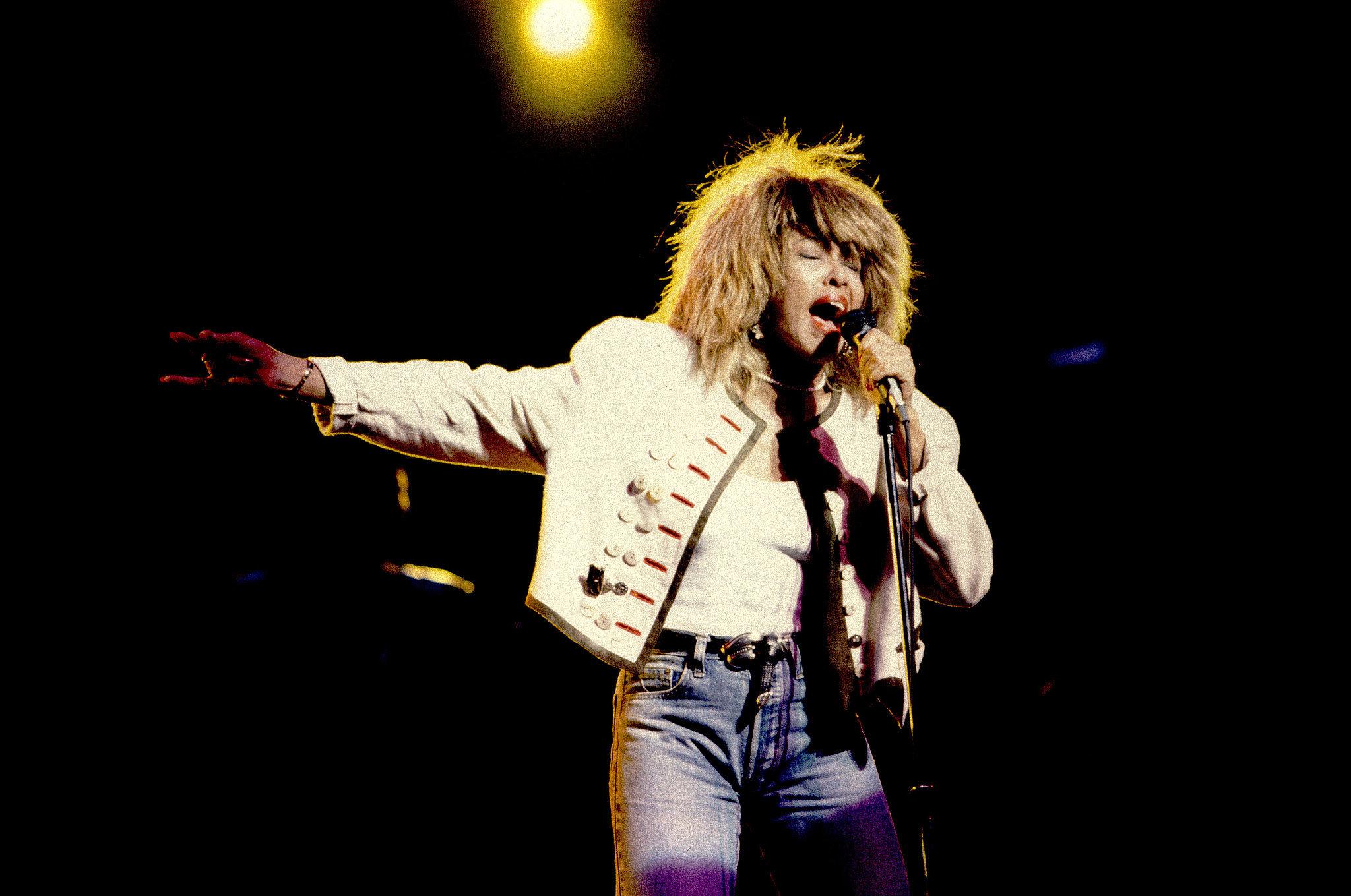 Tina Turner | 10 Female Rock Stars Who Fuel Our Hair Envy | POPSUGAR ...