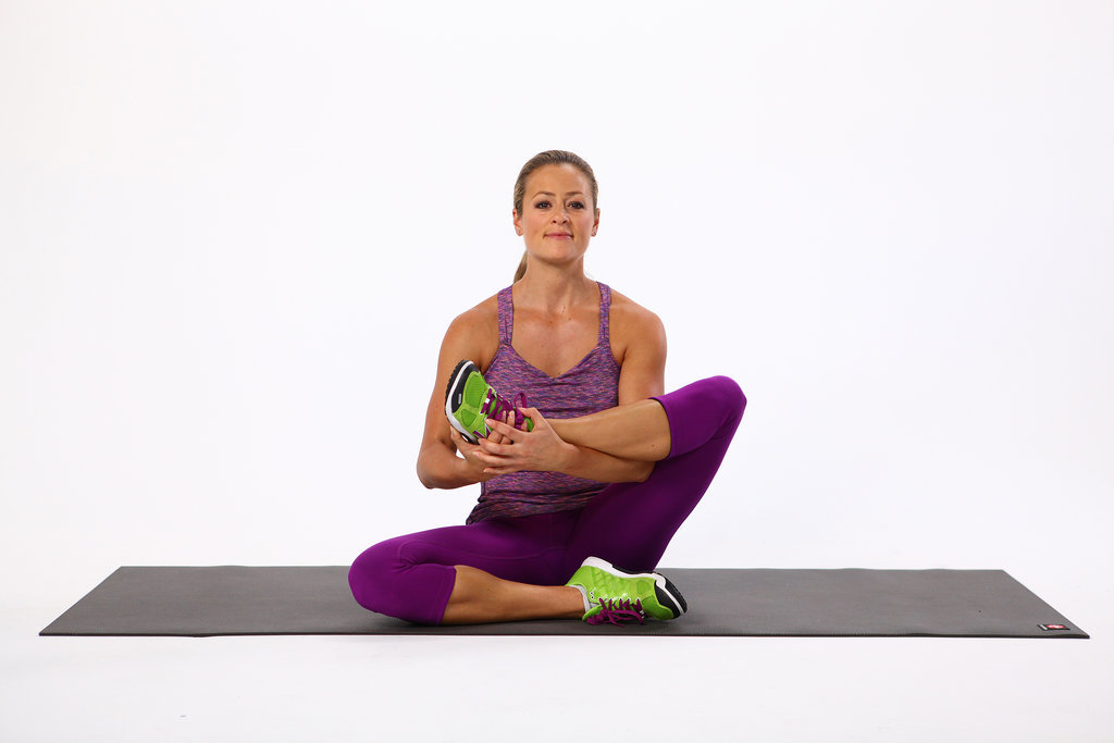 Seated Leg Cradle