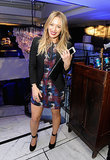 Hilary Duff at Delta's Grammy Weekend Reception