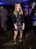 Hilary Duff looked incredible at the Delta party.