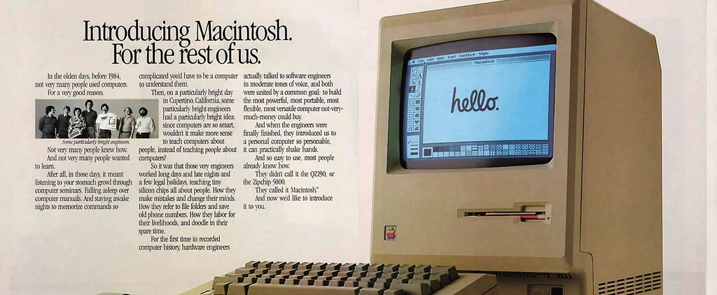 The Mac Turns 30 Today! Watch the First Commercial