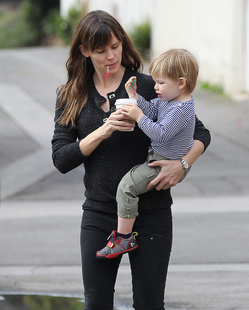Jennifer Garner and Sa...
