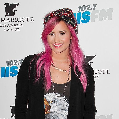 Celebrity Hair Inspiration: Demi Lovato Pink Hair