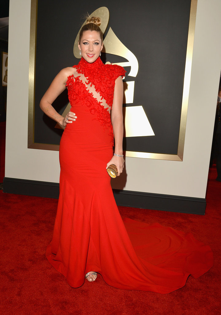 Colbie Caillat at the Grammys 2014