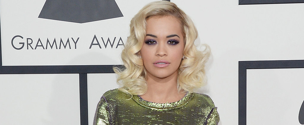 Rita Ora Picks Purple for Her Eyes and Many More for Her Nails
