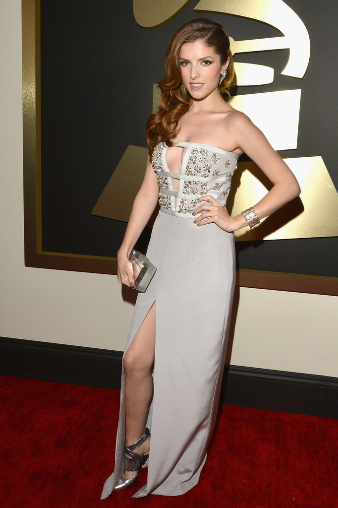Anna Kendrick at the 2014 Grammy Awards.