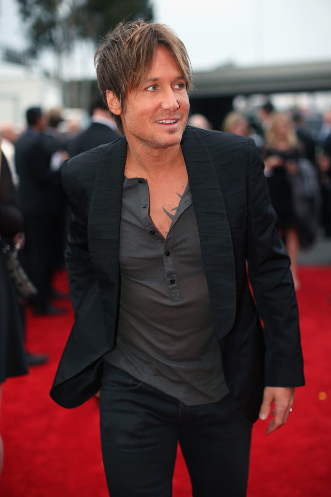 Keith Urban at the 2014 Grammy Awards.