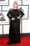Kelly Osbourne at the Grammys 2014