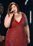 "Mary Lambert joined Macklemore & Ryan Lewis to perform ""Same Love."""