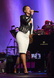 Alicia Keys at the 2014 MusiCares Person of the Year Awards