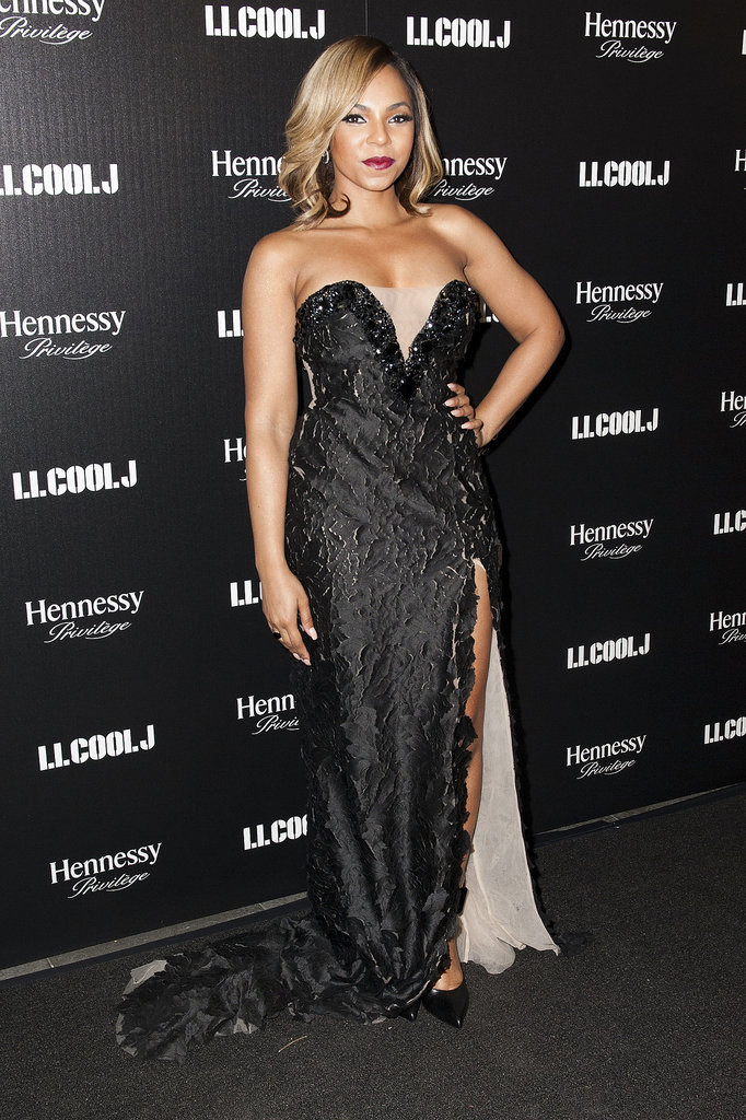 Ashanti stepped out for a dinner hosted by LL Cool J.