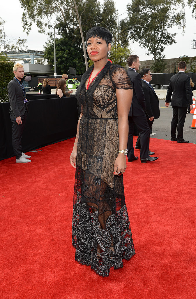 Fantasia Barrino at the 2014 Grammy Awards.