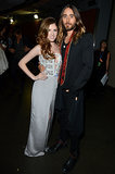 Anna Kendrick posed next to Jared Leto.