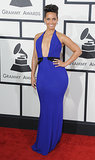 Alicia Keys at the Grammy Awards in Armani Privé