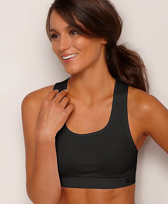Stay dry with a Champion Seamless Sports Bra ($36) that offers high support and moisture-wicking comfort, the perfect balance for a Winter sports bra pick.