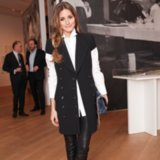 Olivia Palermo Menswear Outfit