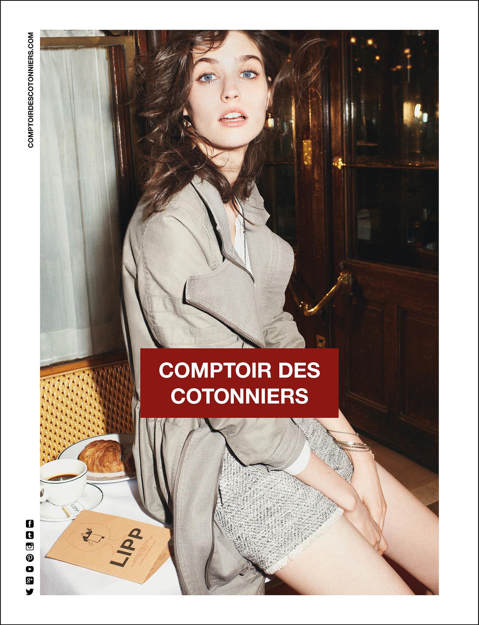 Comptoir des cotonniers spring 2014 spring campaigns so pretty you 39 ll jump for joy popsugar - Bottine comptoir des cotonniers ...