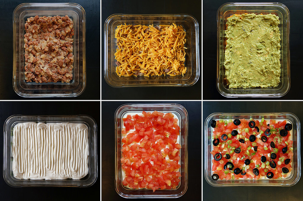 Seven Layer Bean Dip Recipe | POPSUGAR Food