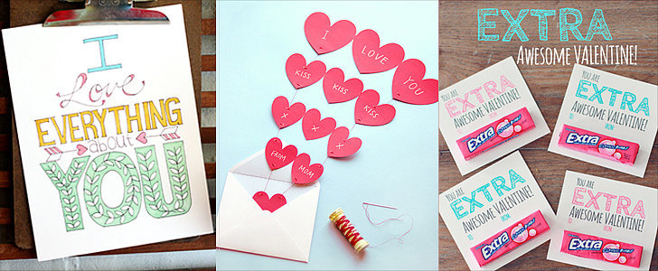 50+ Free Valentine's Printable Cards That Aren't Corny