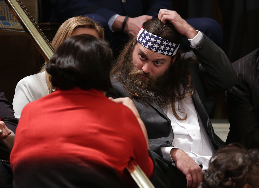 Wait, a Duck Dynasty Star Was at the State of the Union?