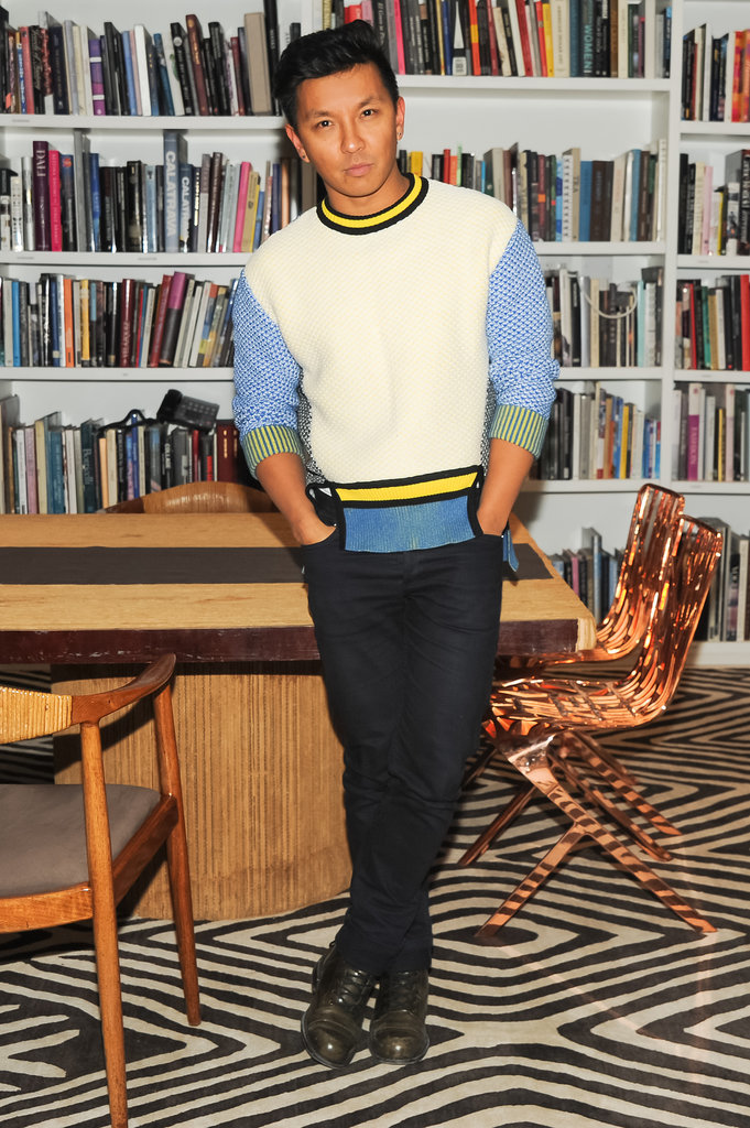 Prabal Gurung attended Diane von Furstenberg and the CFDA's bash for Marigay McKee.