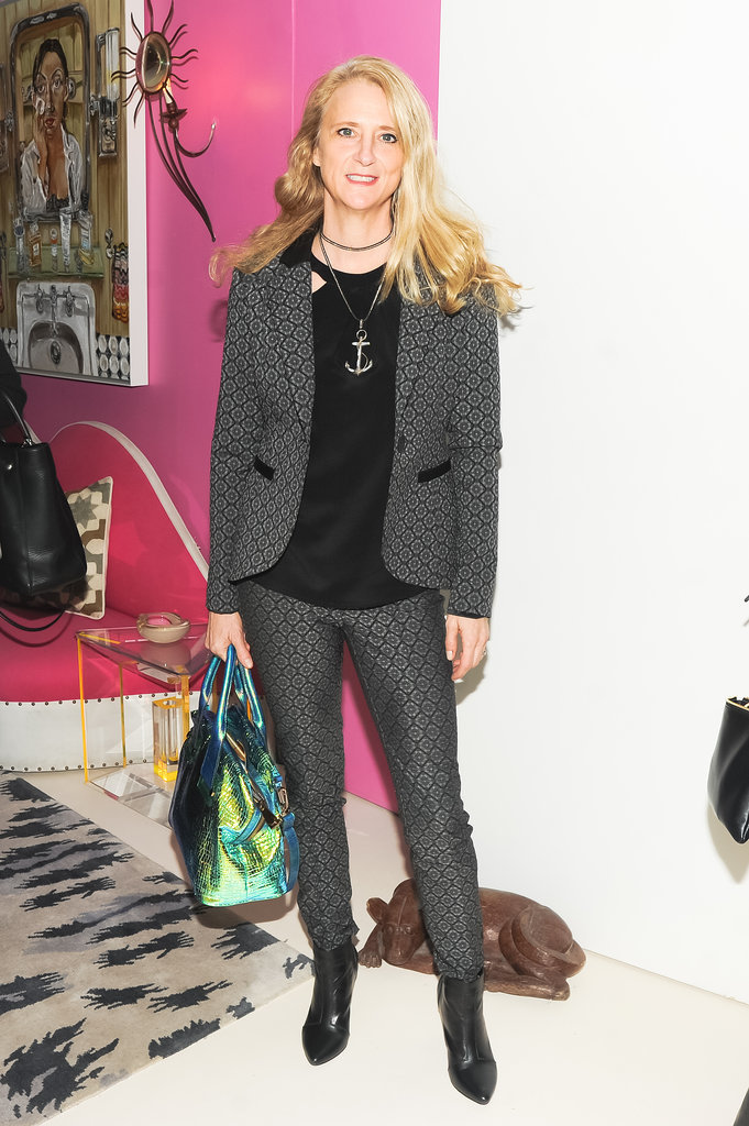 Nanette Lepore attended Diane von Furstenberg and the CFDA's bash for Marigay McKee.
