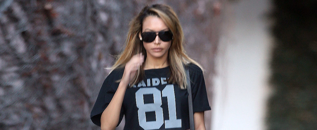 Is Naya Rivera's Outfit Super Bowl Gold?