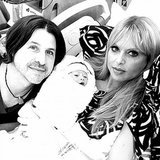 "What better way to announce baby news than with a self-portrait of the happy new family? Rachel Zoe posted this sweet snap on Dec. 23, shortly after the birth of her second son, along with the message: ""Meet the newest member of our family, Kaius Jagger :)"" Source: Twitter user RachelZoe"