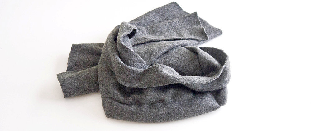 Keep the Chill Away With This DIY Warming Scarf