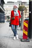 Dress up any outfit with bright color.  Source: Le 21ème | Adam Katz Sinding