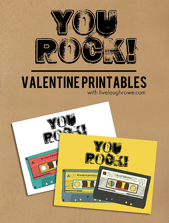 You Rock Printable