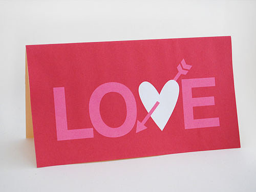 Love Arrow Valentine's Printable