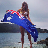 Celebrity Instagram Pictures Australia Day 2014